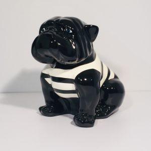 animaux résine bulldog espace design bordeaux