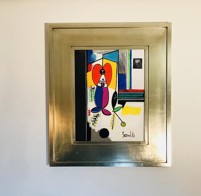 tableau peinture espace design bordeaux