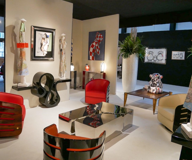 espace design bordeaux animaux en résine et mobilier design