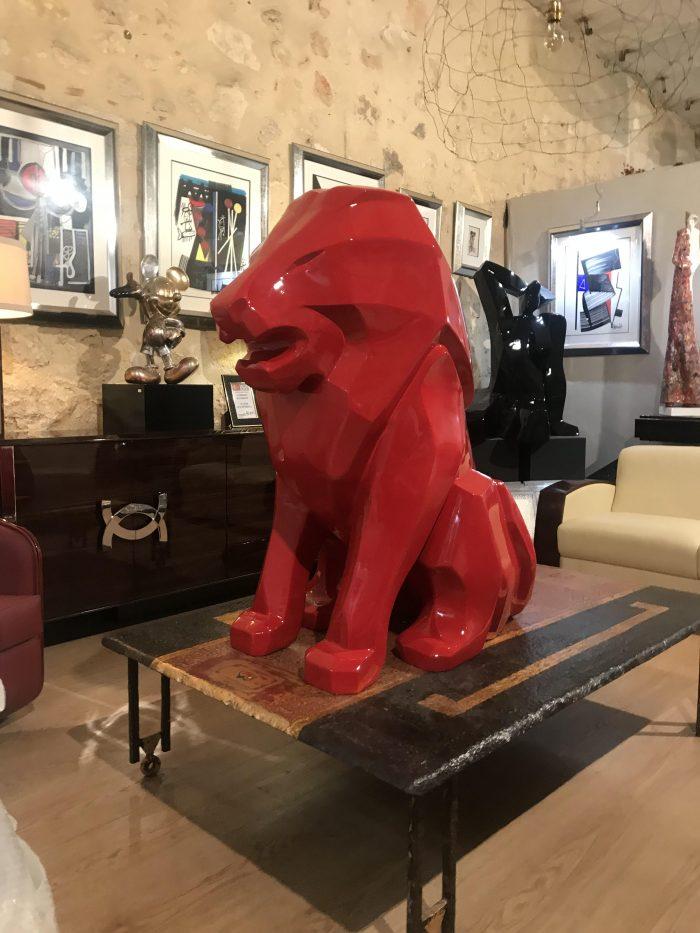 bulldog animaux résine espace design bordeaux
