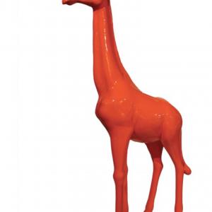 girafe en fibre de verre