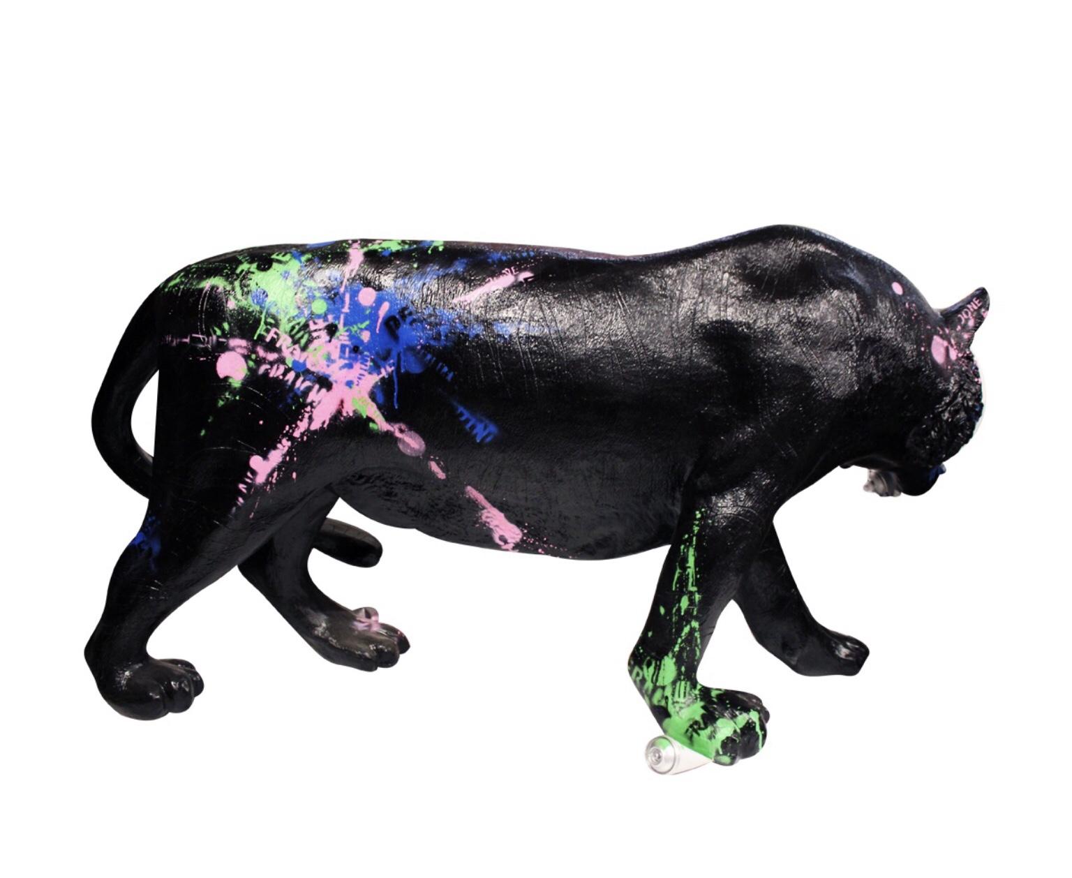 tigre personnalisé en fibre de verre
