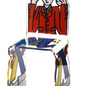 chaise plexi castelbajac