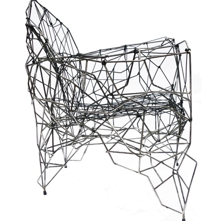 fauteuil ficelles artiste
