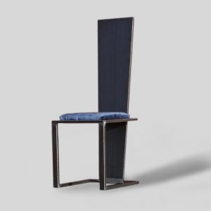 chaise acier créateur