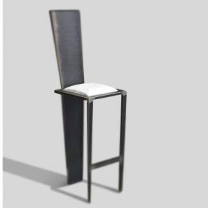 chaise haute en acier créateur