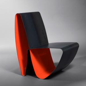 fauteuil design en alu