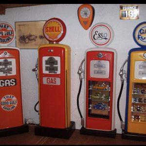 pompe à essence personnlosée
