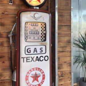 pompe à essence vintage texaco
