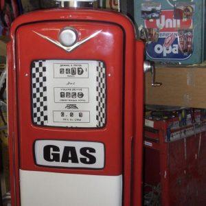 pompe à essence vintage personnalisée gas
