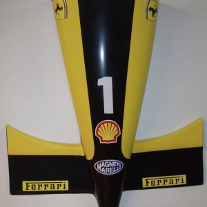 avant de voiture formule 1