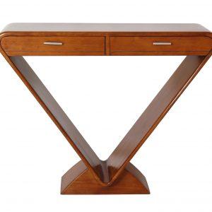 console new design en bois