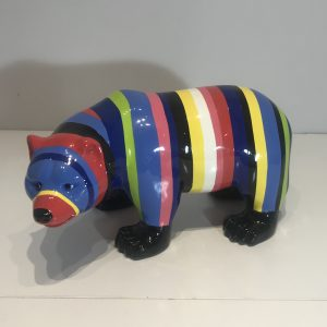 ours en résine personnalisé