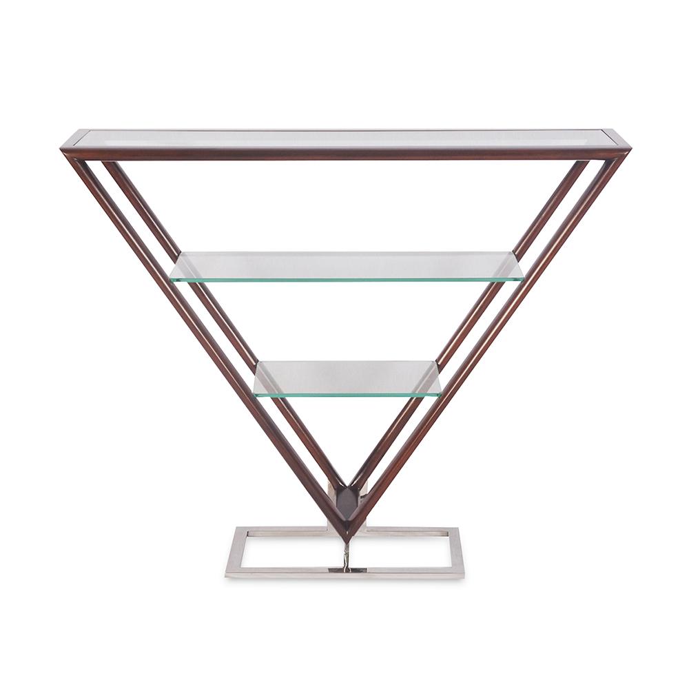 console design en verre
