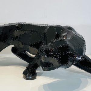 panthère laque noir