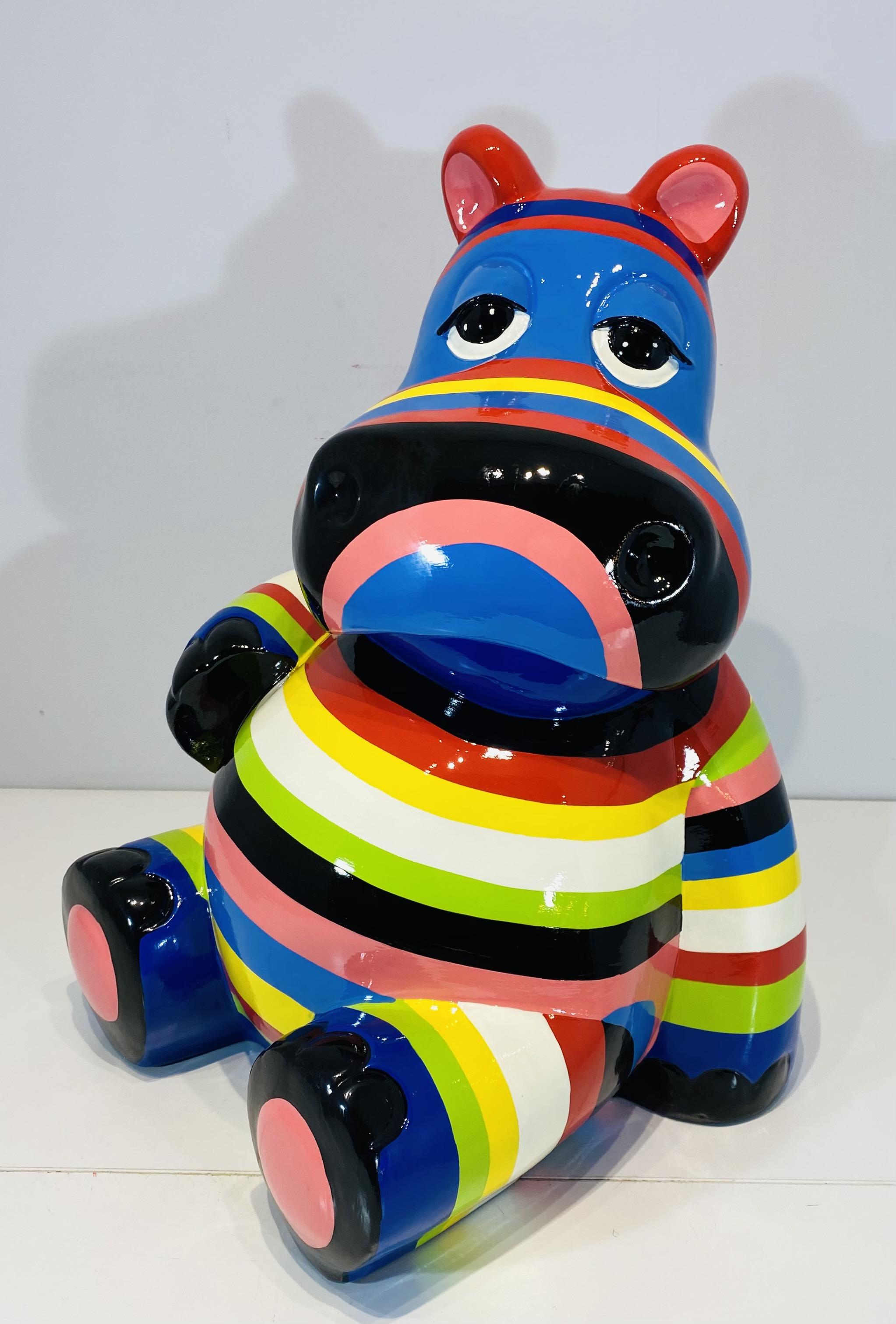 hippo assis multicolores