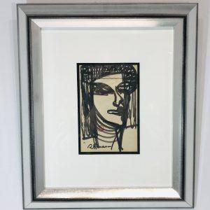 portrait de femme raymond espinasse